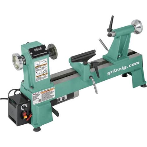 woodworking lathe machine 12 quot x 18 quot variable speed wood lathe grizzly industrial
