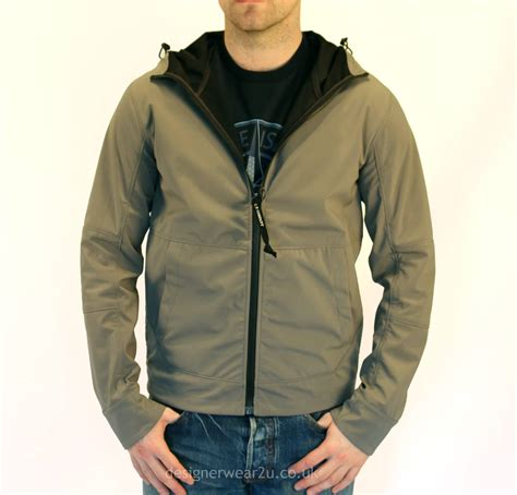 Cp Jaket Grey cp company grey lightweight hooded jacket with goggles jackets from designerwear2u uk