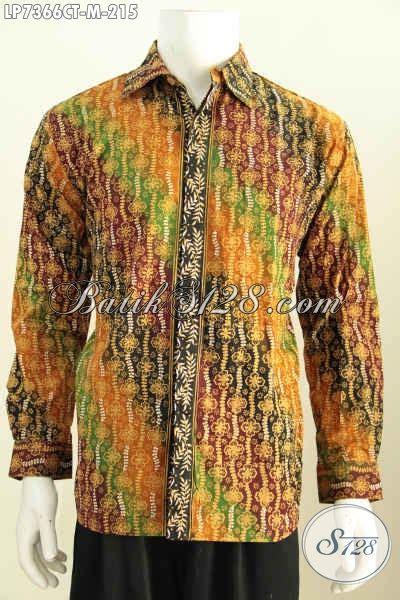 Baju Batik Terbaru Lengan Pendek Ukuran M Motif Bunga batik hem pria lengan panjang ukuran m baju batik klasik