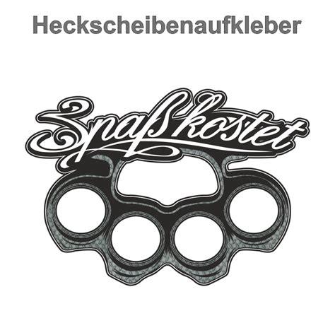 Aufkleber Von Metall Lösen by Aufkleber Spa 223 Kostet Schlagring