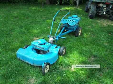 lawn boy loafer for sale 1962 blue lawn boy loafer lawn mower tractor