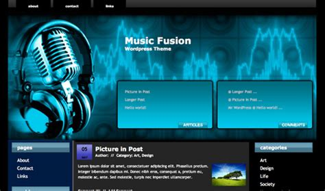 themes wordpress free music blow your mind with these 4 awesome wordpress music themes