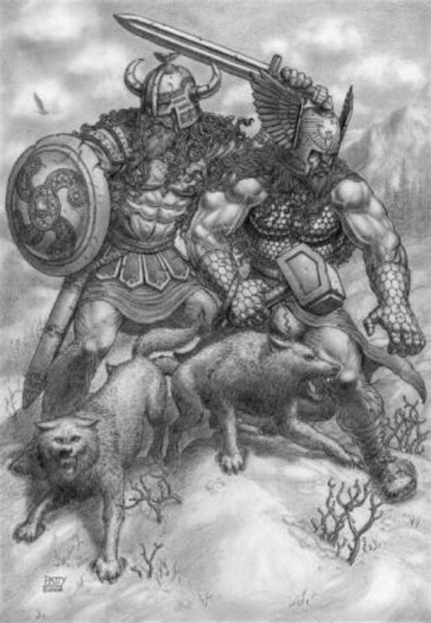 odin and thor norse gods amp goddesses pinterest