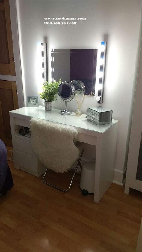 Meja Rias lampu   Meja Make Up Minimalis Wrna Putih Murah