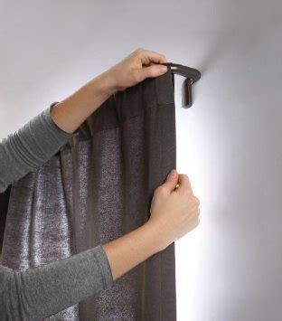curtain rod for window against wall 1000 ideas about room darkening curtains on