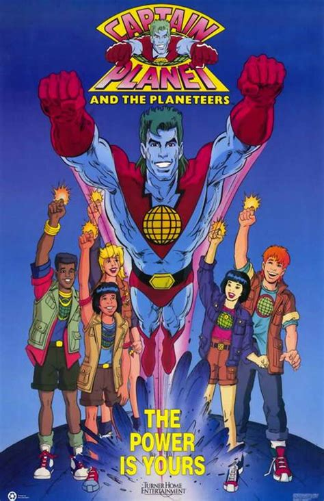 Captain Planter by Captain Planet And The Planeteers Posters From
