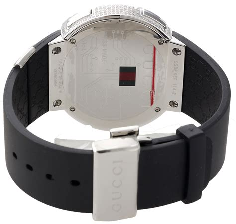 Casing Custom Gucci Desain gucci i gucci mens digital ya114202 black