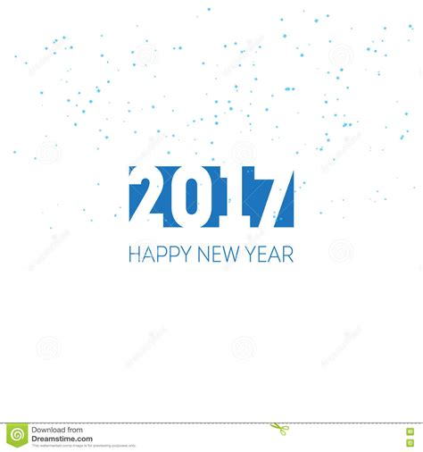 New Year Card Design Template by Happy New Year 2017 Greeting Card Design Template