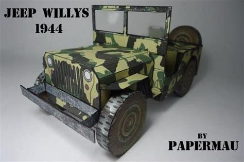 Papercraft Jeep - jeep willys models and papercraft on