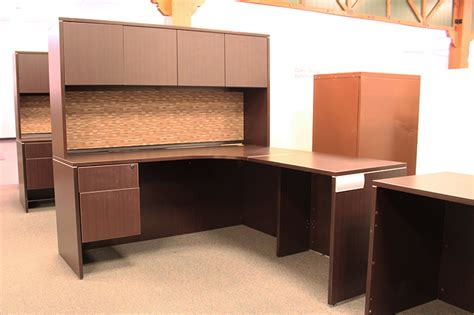 Used L Shaped Office Desk Used Office Source L Shaped Desk With Hutch Ofw Pittsburgh