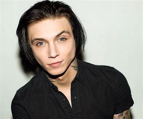 andy biersacks andy biersack bio facts family life of american rock