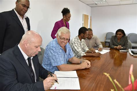 design management ltd dominica contract signed to construct west bridge in roseau