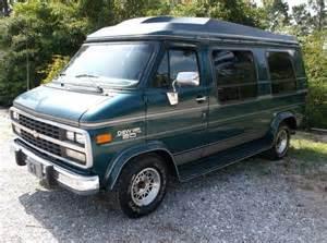 buy used 1995 chevrolet g20 sportvan extended passenger