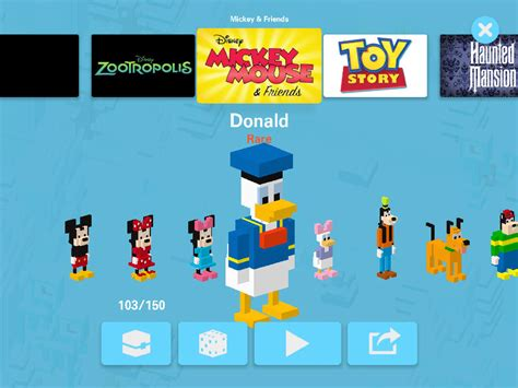 every rare character in crossy road disney crossy road every classic rare epic and