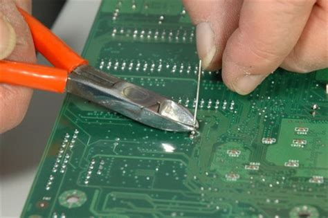 capacitor anode cathode leg equip your motherboard with new capacitors how to fix your motherboard for 15