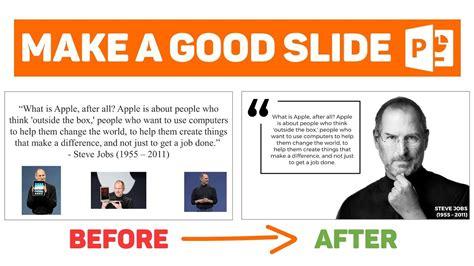 powerpoint design jobs powerpoint tutorial design a good slide episode 2