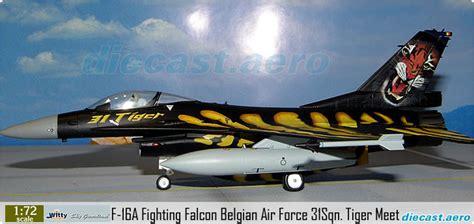 Tiger Airways Miniatur Plane Model model aircraft f 16a fighting falcon belgian air