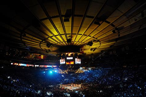 Square Garden Boxing by Miguel Cotto