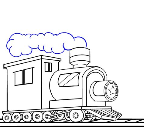 how to draw a boat engine how to draw a train in a few easy steps easy drawing guides