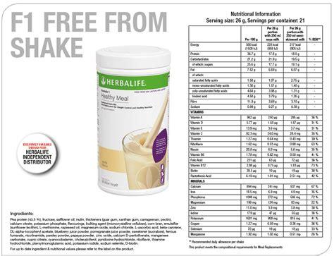 Herbalife Formula 1 Nutritional herbalife 174 formula 1 free from vanilla 550g canister