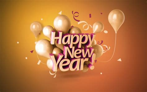 happy new year 3d 2015 wallpapers