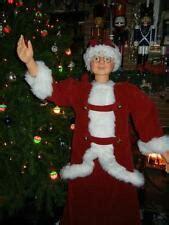 3 ft animatedmrsclaus 5 foot santa ebay
