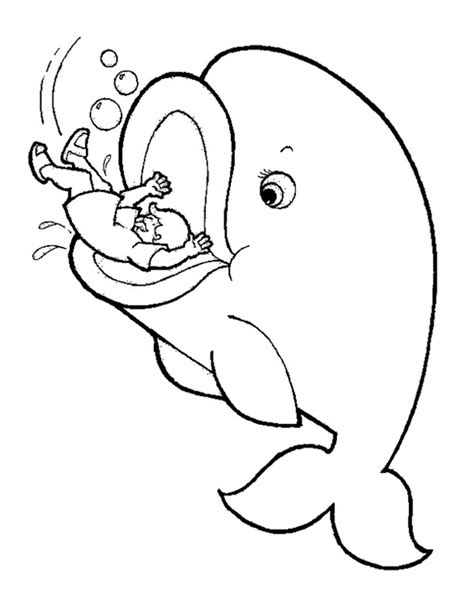 coloring page jonah and the whale coloring page by cori