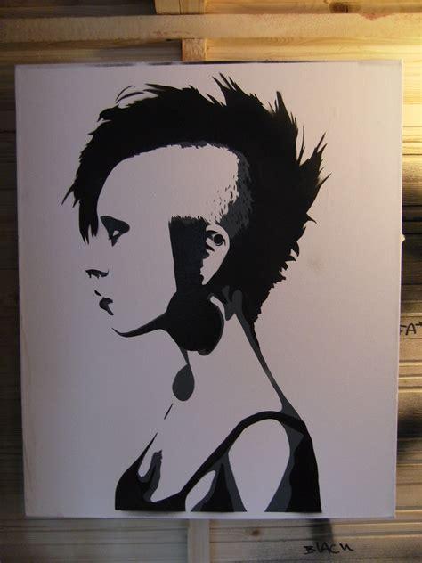 punk girl   test  canvas xcm flickr