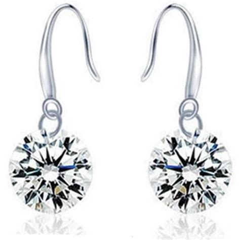 Anting Earrings earrings 925 sterling silver anting wanita white jakartanotebook