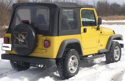 2000 Jeep Wrangler Trailer Hitch Curt Trailer Hitch Receiver Custom Fit Class Iii 2