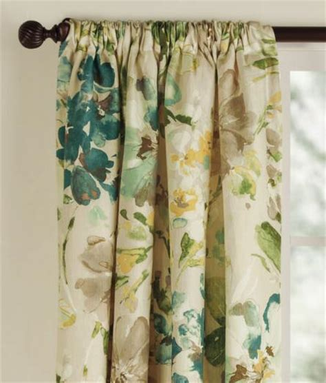 country curtains rods paint palette lined rod pocket curtains country curtains 174