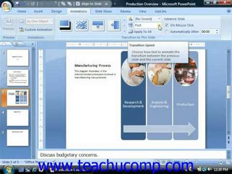 powerpoint tutorial transitions powerpoint tutorial adding slide transition animation