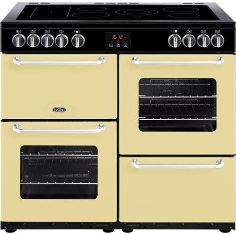 100 ceramic grill bad belling fh100e 100cm all electric farmhouse range