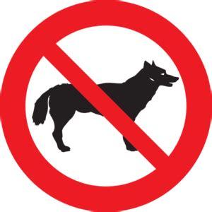 Stiker Sign Dilarang Membawa Hewan Peliharaan no dogs clip at clker vector clip