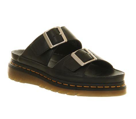 Dr Martens Sandals womens dr martens cyprus sandal black leather sandals ebay