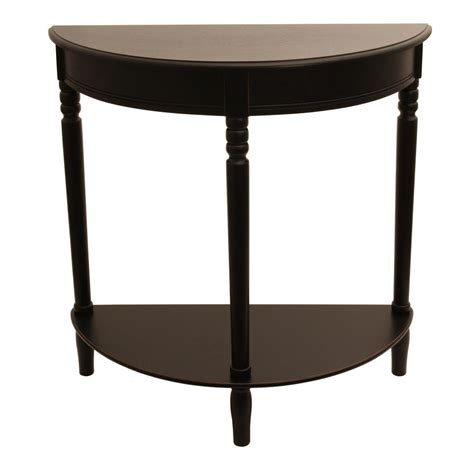 Black Sofa Table With Storage Home Decorators Collection Mitchell Black Rubbed Storage