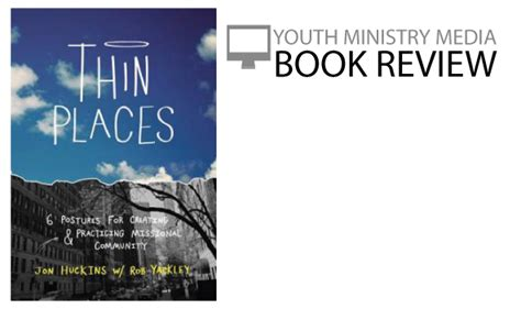 critique of modern youth ministry books book review thin places youth ministry media