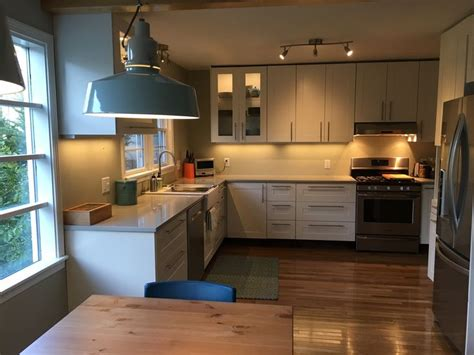 A Modern Ikea Kitchen Renovation In Less Than A Month » Home Design 2017