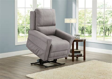 Living Room Lift Chair Pwr Lift Recl Gray Overdrive Lift Chairs Living Room