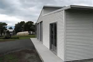 Flat Roof Awning Skillion Roof Sheds And Garages Ranbuild