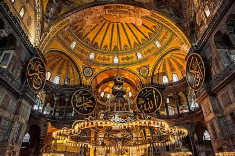 architectural marvel  turkey hagia sophia ayasofya
