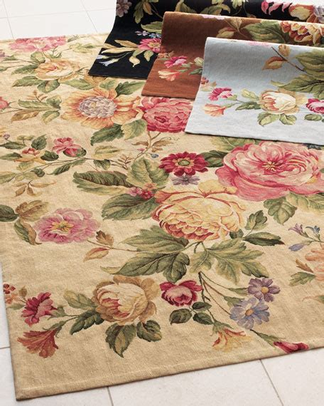 rugs with roses on them quot waterfall quot rug 3 9 quot x 5 9 quot
