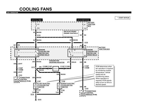 2001 ford windstar wiring diagram 2001 free engine image