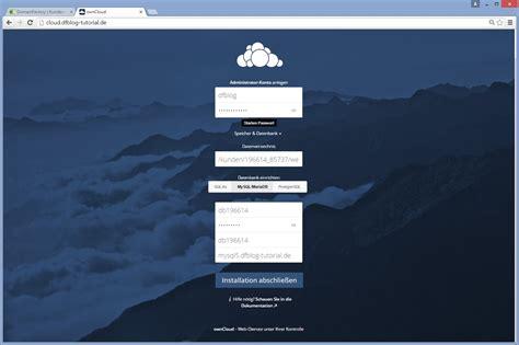owncloud installationsanleitung domainfactory blog