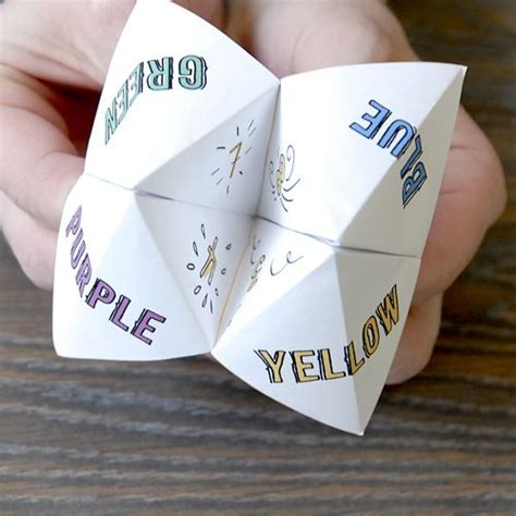 Origami Fortune Teller Ideas - best 25 paper fortune teller ideas on origami