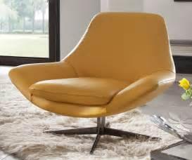 nouveau fauteuil design cuir pied pivotant allen allan