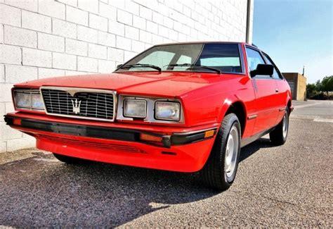 Maserati Cheap by 1984 Maserati Biturbo Cheap Italian