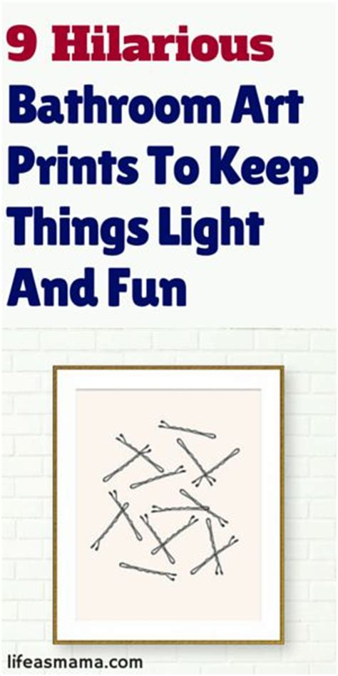 funny bathroom prints 9 hilarious bathroom art prints to keep things light and