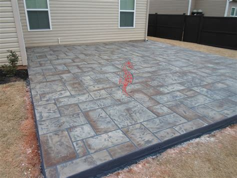 decorative concrete patio 28 images decorative