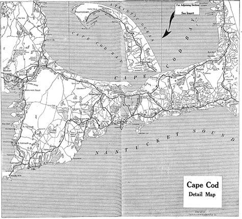 cape cod florida map cape cod